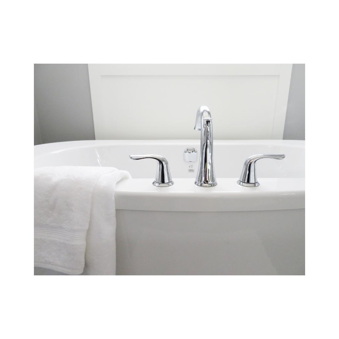 浴室2ハンドル混合水栓