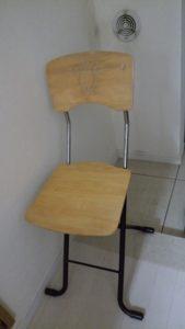 10年間使用していた椅子