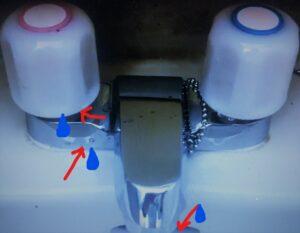 2ハンドル混合栓 洗面