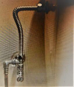 トイレのフレキ菅