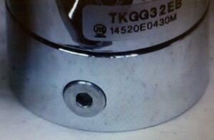 シングルレバー混合栓 六角ネジ穴