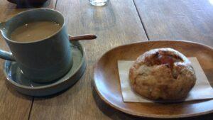 ドレミ荘(cafe2345)ソイラテとパン