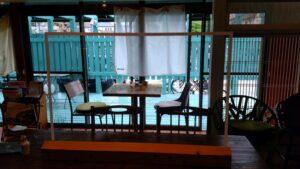 ドレミ荘(cafe2345)テラステーブル