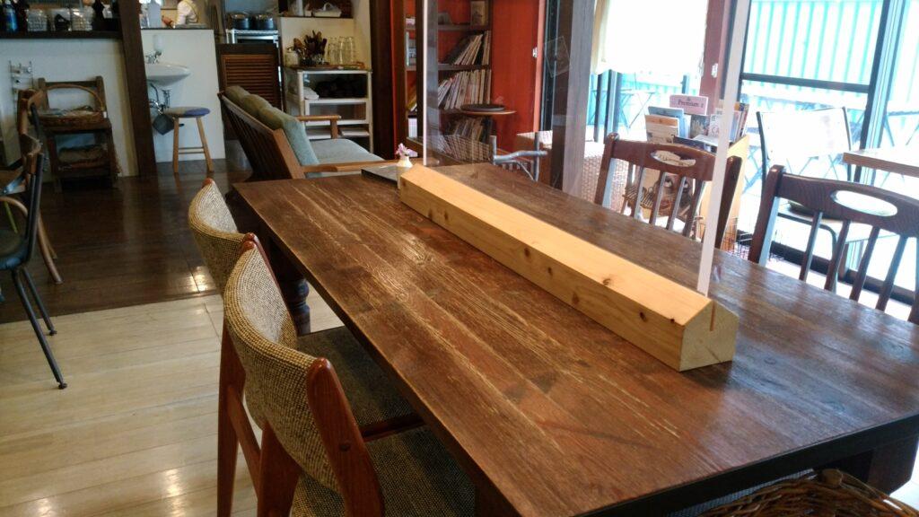 ドレミ荘(cafe2345)大テーブル